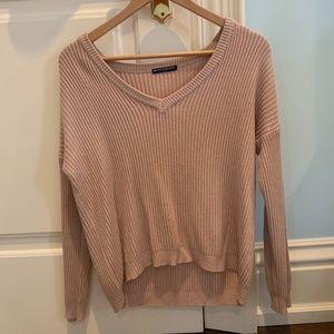 Brandy Melville Pink Knit Sweater